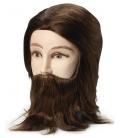 Bravehead harjutuspea brünett mees habemega