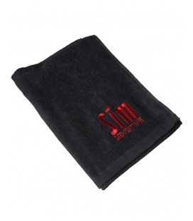 Sim towel with embroidered logo