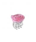 Juukseklamber roosiga väike