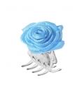 Juukseklamber roosiga suur
