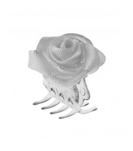 Hair Clip with Rose big