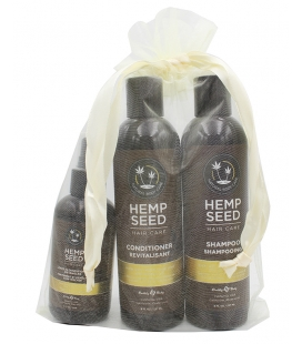 Hemp Seed Shampoo + Conditioner + Leave in Spary Jõulupakkumine