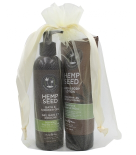 Hemp Seed Shower Gel + Body Lotion Jõulupakkumine