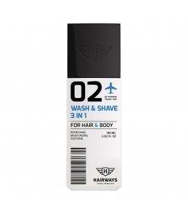 Hairways 02 Wash & Shave 3in1