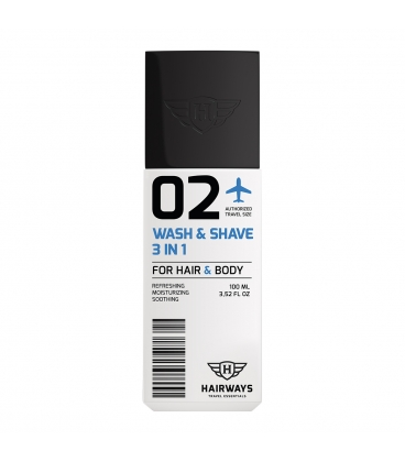 Hairways 02 Wash & Shave 3in1