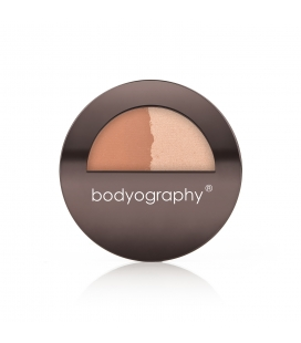 Bodyography Pressed Bronzer/Highlighter Sunsculpt Duo