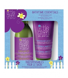 Little Green Kids Bathtime Essentials