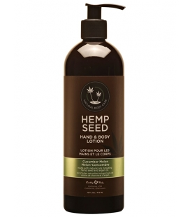 Hemp Seed Hand & Body Lotion Cucumber Melon