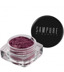 Sampure Minerals Crushed Mineral Eyeshadow / Grape