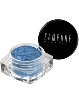 Sampure Minerals Crushed Mineral Eyeshadow / Sparkling Teal
