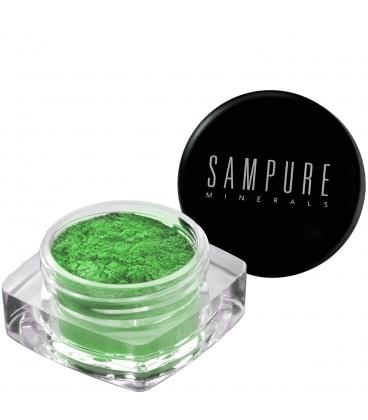 Sampure Minerals - Crushed Mineral Eyeshadow / Emerald Gems
