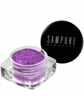 Sampure Minerals Crushed Mineral Eyeshadow / Grascious Plum