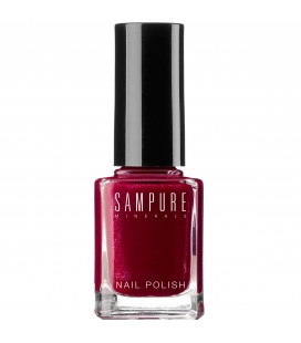 Sampure Minerals - Glamorous Nail Polish / Juicy Pomagranate